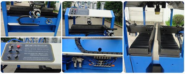 Manual crimping machine