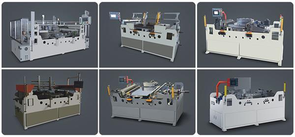 Full automatic intercooler and radiator core assembly machine