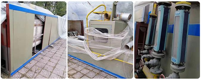 Used NB continuous aluminum brazing furnace