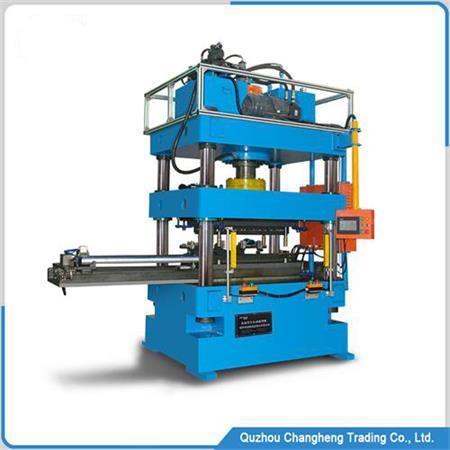 Parallel flow condenser round header opening machine