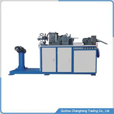 Roller fin forming machine