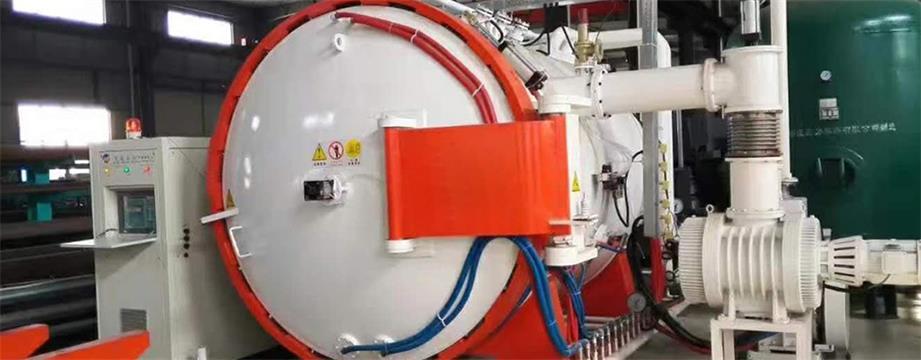 Control system of large vacuum aluminum brazing furnace
