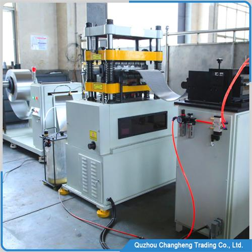 industrial cooling system Fin forming machine