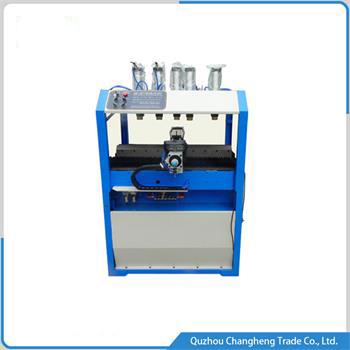 radiator Plastic tank Manual crimping machine