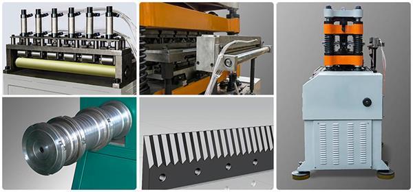 fin machine factory