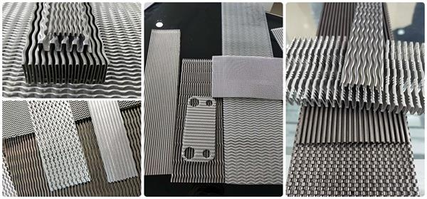 Industrial cooling Oil cooler Wave fin die factory