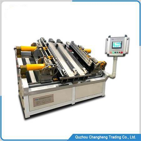 automatische Ladeluftkühler- und Kondensatorkern-Montagemaschine