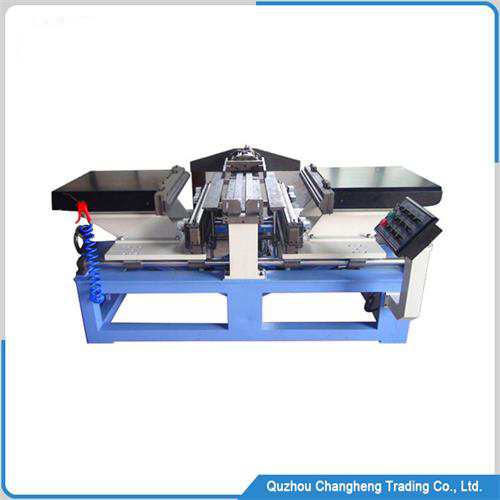 automatic intercooler and condenser core assembly machine