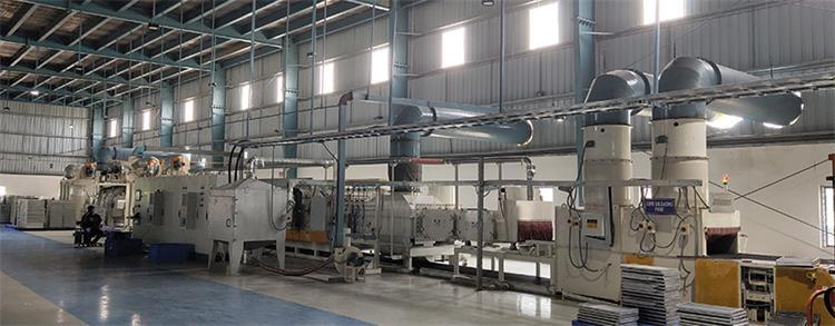 Possible problems of continuous nitrogen protection brazing furnace