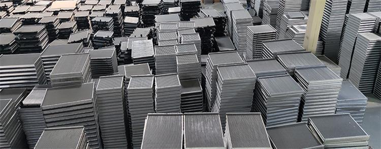 Aluminum brazing process using continuous brazing furnace