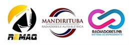 logotipo da máquina do radiador