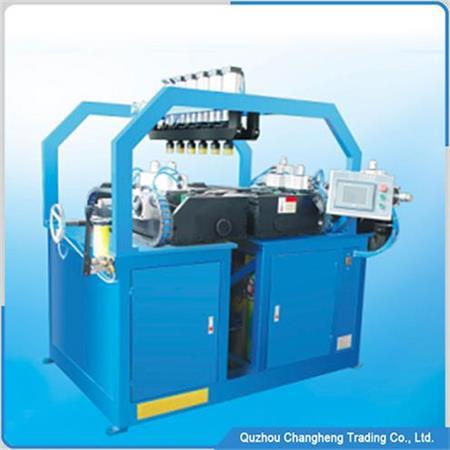 radiator clinch machine